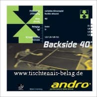 andro Backside 40
